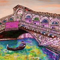 Across the Grand Canal Art Prints & Posters by Loredana Messina