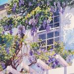 """Wisteria House"" by KimStenbergFineArt"