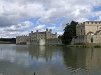 leeds castle over the moat