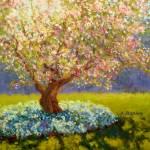 """Apple Tree Blooming"" by KimStenbergFineArt"