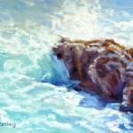 """Crashing Waves"" by KimStenbergFineArt"