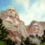 """Mount Rushmore"" by KimStenbergFineArt"