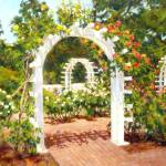 """Rose Garden in Santa Rosa, California"" by KimStenbergFineArt"