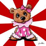 """Circus Bear"" by KiniArt"