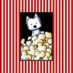 """""""Popcorn Westie"""" by KiniArt"""