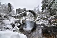 Carrbridge Snow Pack Horse Bridge ASN6801 www.aaro