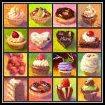 """Sweet Tooth Collage"" by KimStenbergFineArt"