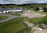 kite Aerial Photograph of Former Nigg Ferry Hotel