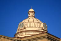 Lincoln, Illinois - Courthouse Dome