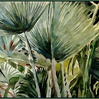The Sunshine Palms Art Prints & Posters by Melinda Newman