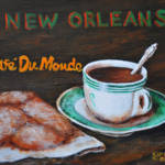 """Cafe Du Monde  #2 New Orleans Folk Art Southern"" by kiphayes"