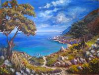Skiathos 'Path to Kastro beach'