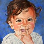 """""""When dad brings chocolate - Cuando papá trae el ch"""" by Rezzan"""