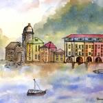 """""""Portofino Italy"""" by BorsosAnnaRuzsan"""