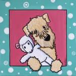 """""""Lamb Lover Wheaten Terrier"""" by KiniArt"""