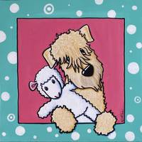 Lamb Lover Wheaten Terrier