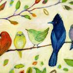 """""""A Flock of Many Colors"""" by JENLO"""