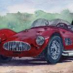"""""""1954 Maserati A6 GSC Tipo MM"""" by BorsosAnnaRuzsan"""