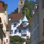 """""""Luzern Street in Summer 4"""" by PriscillaTurner"""