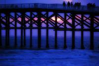 Crystal Pier Sunset