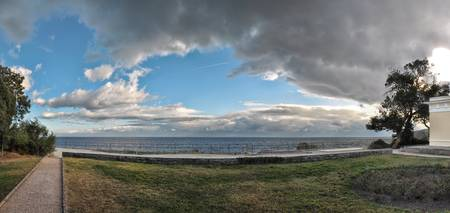 Panoramic view of the Vorontsov Park seashore