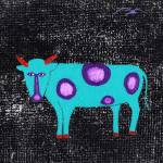 """The Blue Gnu Who Knew"" by LimeCreekArt"