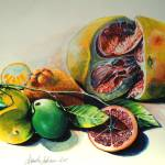 """Still Life of Citrus"" by unlimiteditalian"