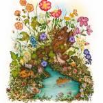 """Watercolor Bird Print"" by DonnaMariesArt"