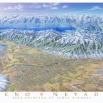 """Reno Nevada"" by jamesniehuesmaps"