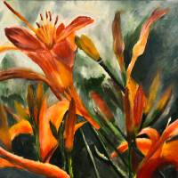 Tiger Lilies by Lisa Rich