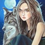 """""""Wolf Spirit"""" by susanvansant"""