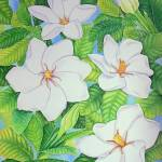 """Hawaiian Gardenias"" by joeyartist"