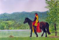 Horse Woman in Vermont