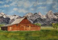 Moulton Barn in the Grand Tetons