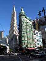 Cafe Niebaum Coppola + Transamerica Tower