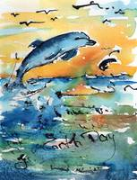 Earth Day Dolphin The Glory of Life