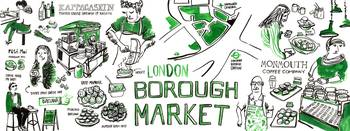 Borough Market, London by Pinyada Ratanasungk
