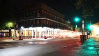 New Orleans Decatur Street at Night