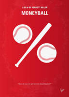 No191 My Moneyball minimal movie poster