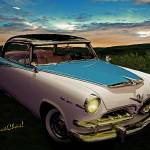 """55 Dodge 2 Door Hardtop"" by chassinklier"