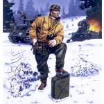 """U.S.Army Tank Commander, Ardennes Forest, 1944."" by retrogameart"