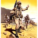 """Deutsches Afrikakorps Infantry, Tunisia, 1942"" by retrogameart"