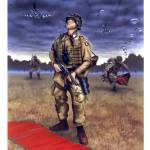 """101st Airborne Pathfinder, D-Day"" by retrogameart"