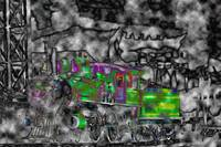 Locomotive in Abstract