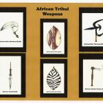 """African Tribal Weapons (Collage)"" by vigliotti"