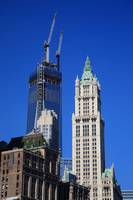Freedom Tower and Woolworth Building