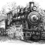 """Locomotive"" by frrittenhouse"