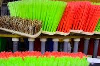 COLORFUL NEW BROOMS