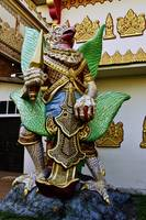 GARUDA at a Burmese Buddhist Temple