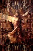 cubist ascension of Jesus